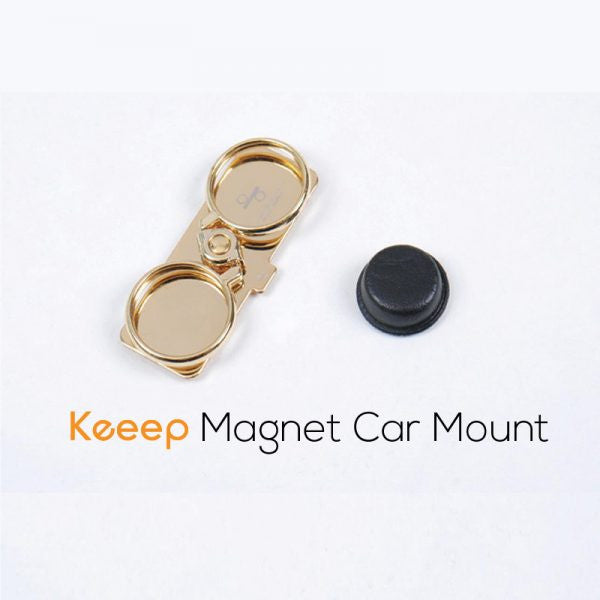 Black bar + Car mount magnet - Phone holder & stand