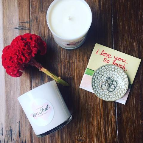 Soy Candle | Hippie Hydrangea