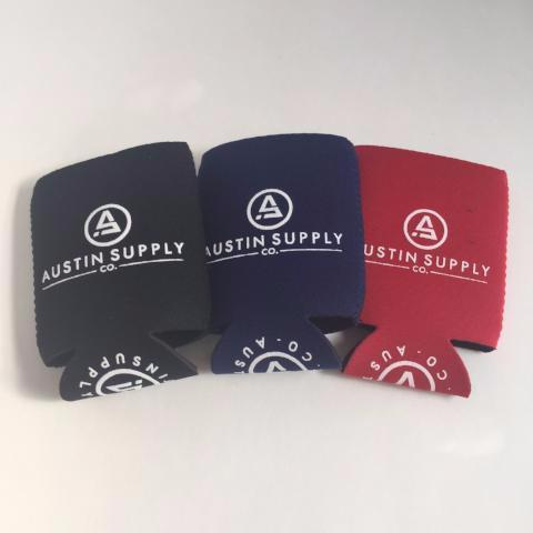 Koozies 3-Pack | Austin Supply Co.