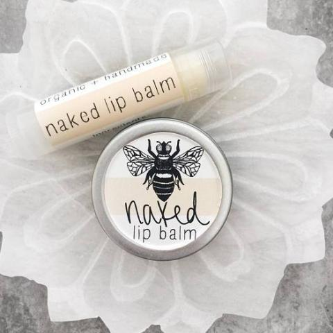 All-Natural Lip Balm | Tube + Tin | Naked Scent