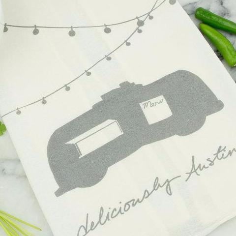 Tea Towel | Deliciously Austin