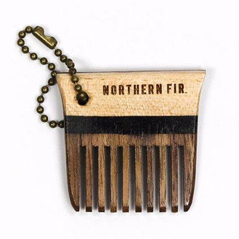 Northern Fir | Beard Balm & Keychain Comb Set
