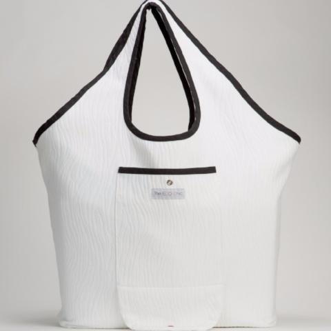 Urban Shopping Tote | Medium | White