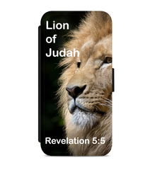 Lion of Judah :: Faux Leather Phone Case