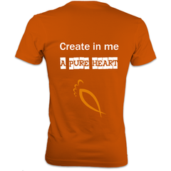 Create in me a Pure Heart : Men's Heavyweight T-Shirt