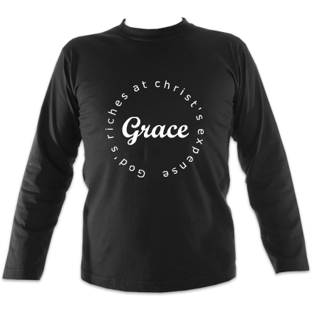 Grace - God's Riches At Christ's Expense : Mens Long Sleeve T-shirt