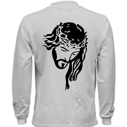 Jesus : Men's Long sleeve polo shirt