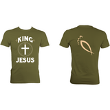 King Jesus :: Men's heavywieght t-shirt