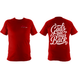 God's got my back : Super-soft Heavy Tee