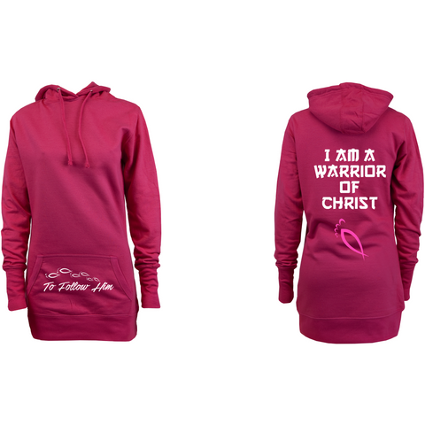 I am a Warrior of Christ :: Woman's Hoodie dress