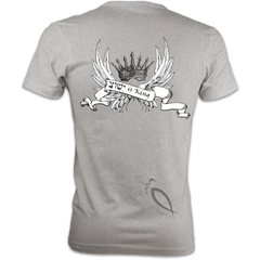 Yeshua is King : Men's fitted T-Shirt