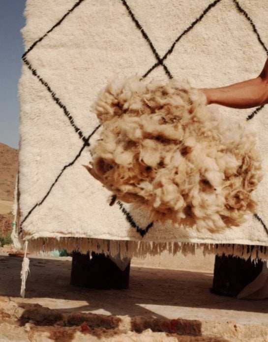From Sheep to Shop: The Journey of a Beni Ourain Rug