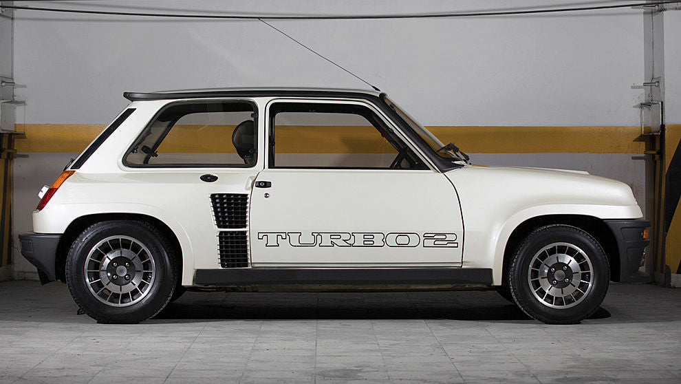 RENAULT 5 TURBO 2 SIDE DECAL SET