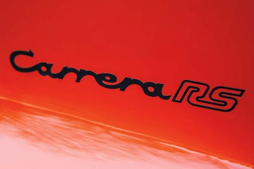 CARRERA RS REAR DECAL FOR PORSCHE 911