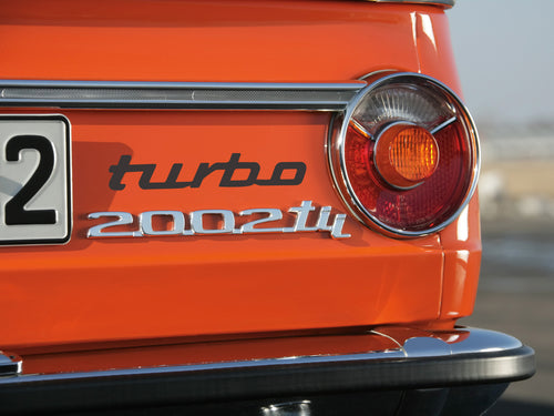 TURBO DECAL FOR BMW 2002