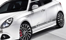 ALFA ROMEO GIULIETTA SIDE DECALS
