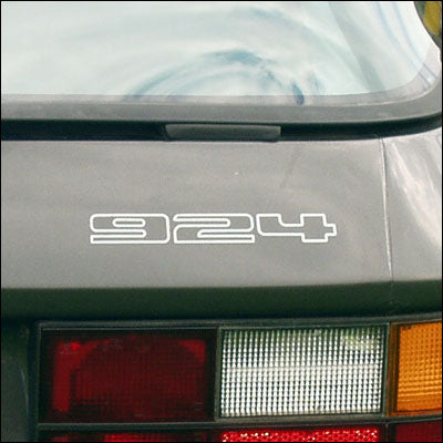 924 REAR BADGE FOR PORSCHE