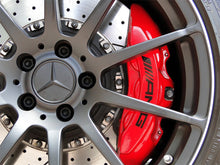 AMG BENT TEXT CALIPER STICKERS FOR MERCEDES BENZ
