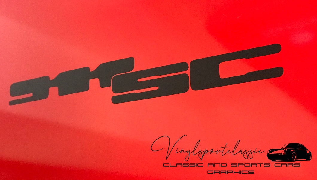 911 SC REAR STICKER BADGE REPLACEMENT FOR PORSCHE 911 SC