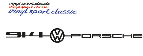 914 VOLKSWAGEN REAR BADGE REPLACEMENT FOR PORSCHE