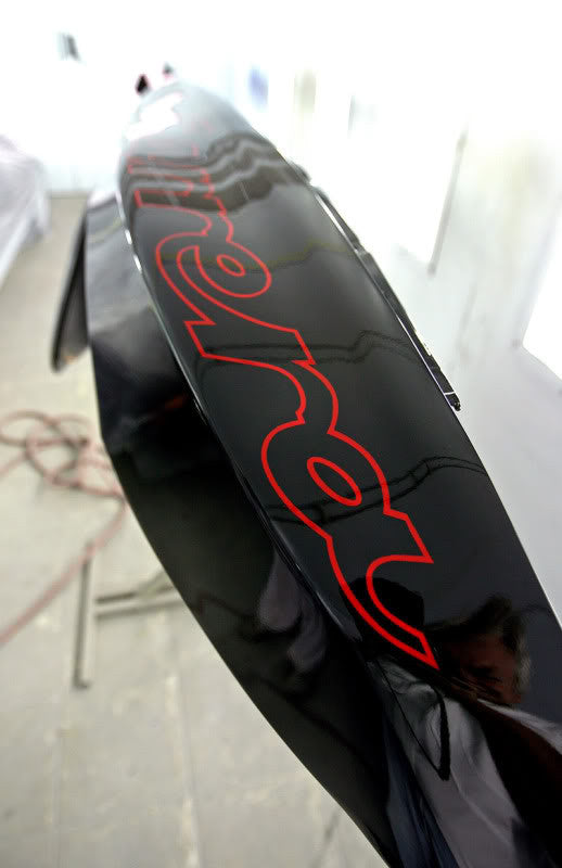 924 CARRERA GT FENDER DECAL FOR PORSCHE 924