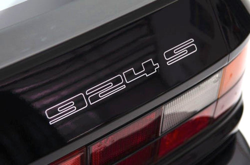 924S REAR DECAL REPLACEMENT FOR PORSCHE 924