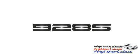 928S REAR BADGE FOR PORSCHE 928
