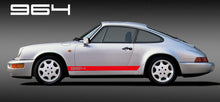 PORSCHE 964 SIDE STRIPES DECAL
