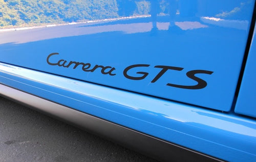 CARRERA GTS DOOR DECAL SET FOR PORSCHE 911