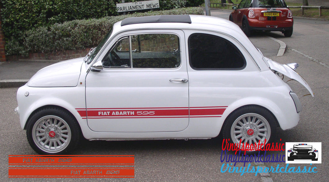 FIAT ABARTH 595 CLASSIC STRIPES