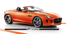 JAGUAR F TYPE SIDE STRIPES DECAL