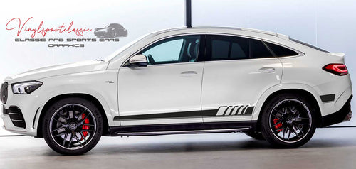 MERCEDES GLE AMG SIDE STRIPES DECAL