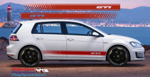 VW GOLF GTI SIDE STRIPES DECAL SET