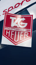 TAG HEUER PORSCHE DECAL