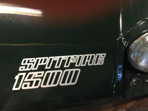 TRIUMPH SPITFIRE 1500 DECAL SET