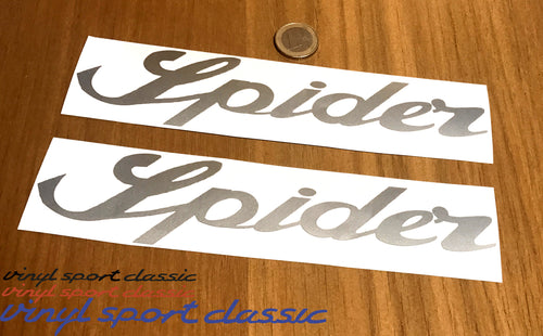 SPIDER DECALS FOR YOUR ALFA ROMEO SPIDER