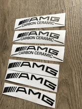 AMG CARBON CERAMIC CALIPER STICKERS