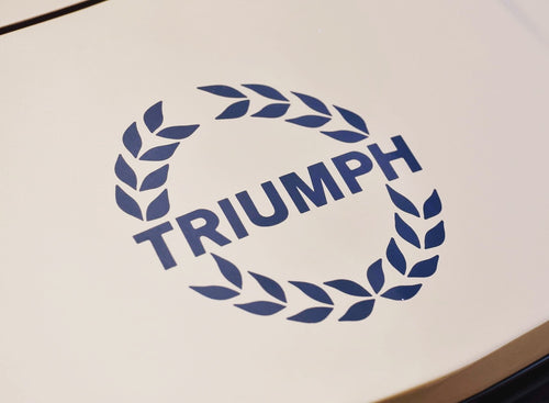 TRIUMPH TR7 badge set