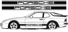 PORSCHE 944 /924 / 968 POSSITIVE SIDE STRIPES DECAL