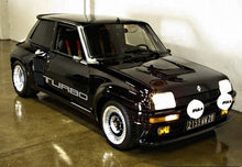 RENAULT 5 TURBO SIDE DECAL SET