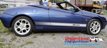 ALFA ROMEO SPIDER SIDE STRIPES DECAL