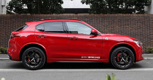 ALFA ROMEO STELVIO DOOR STICKERS