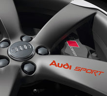 AUDI SPORT RIM DECAL SET