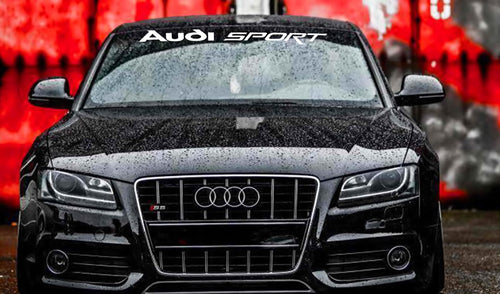 AUDI SPORT WINDSHIELD DECAL FOR AUDI