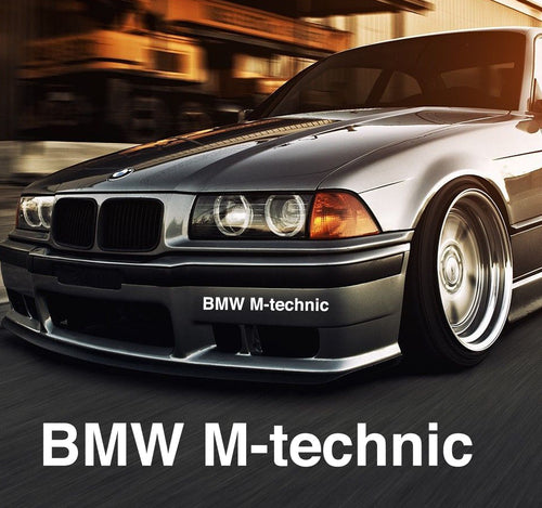 BMW M-TECHNIC STICKERS