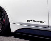 BMW MOTORSPORT STICKER