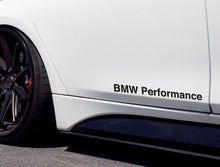 BMW PERFORMANCE STICKER FOR BMW