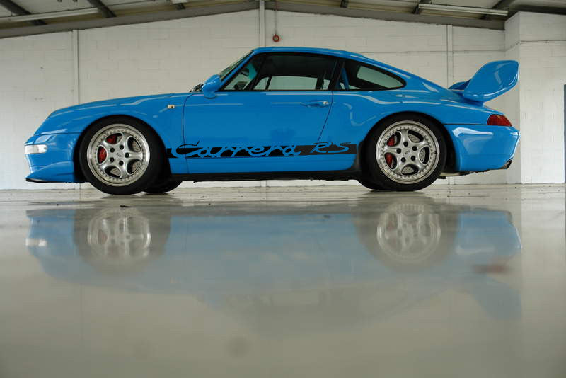 PORSCHE CARRERA RS SIDE VINYL DECALS FOR 911