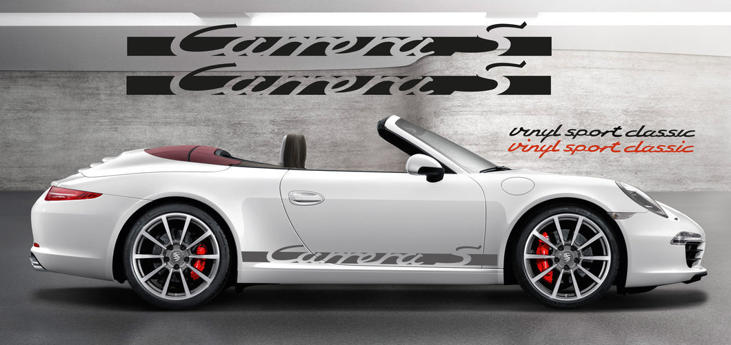 PORSCHE CARRERA S SIDE GRAPHICS