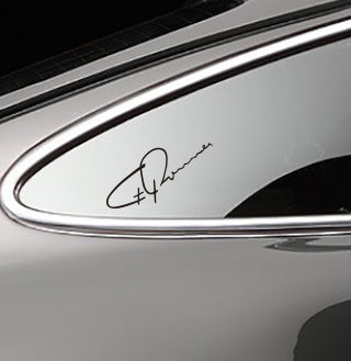 FERRY PORSCHE SIGNATURE DECAL